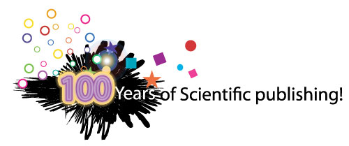 100 years of scientific publishing