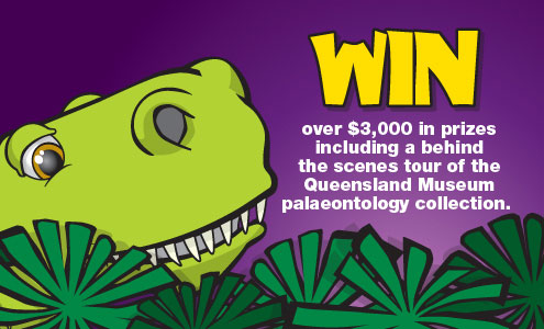 ENERGEX Playasaurus Place Competition Promotion