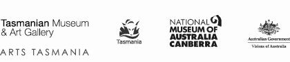 Tasmanian Museum and Art Gallery and sponsors logos