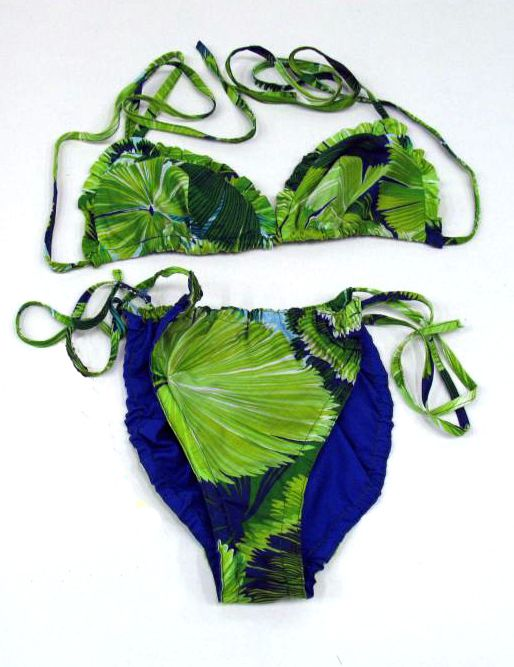 Bikini Made from Olive Ashworth's 'Tropical Fan Palms' design. H19831