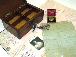 Possessions of a German immigrant family