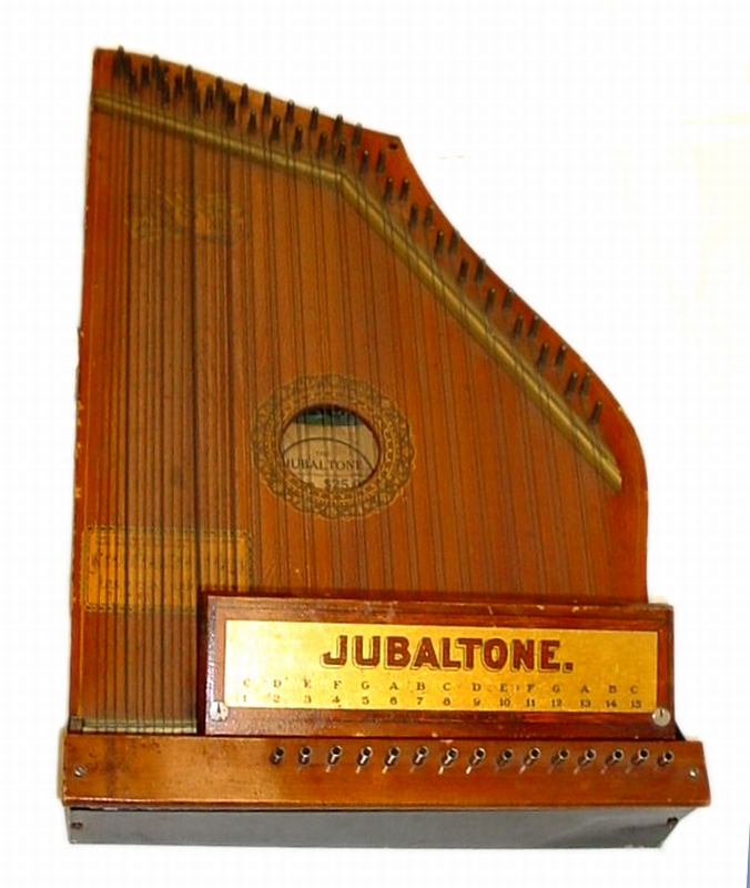 Jubaltone Autoharp from the Charles & Kati Marson Collection
