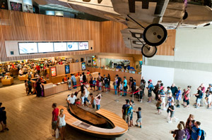 Queensland Museum main foyer