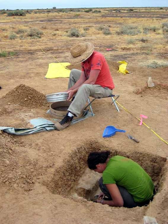 Archaeology fieldwork